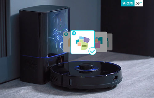 Viomi Robot Vacuum Alpha UV (S9) - Free Your Hands and Customize Clean Life
