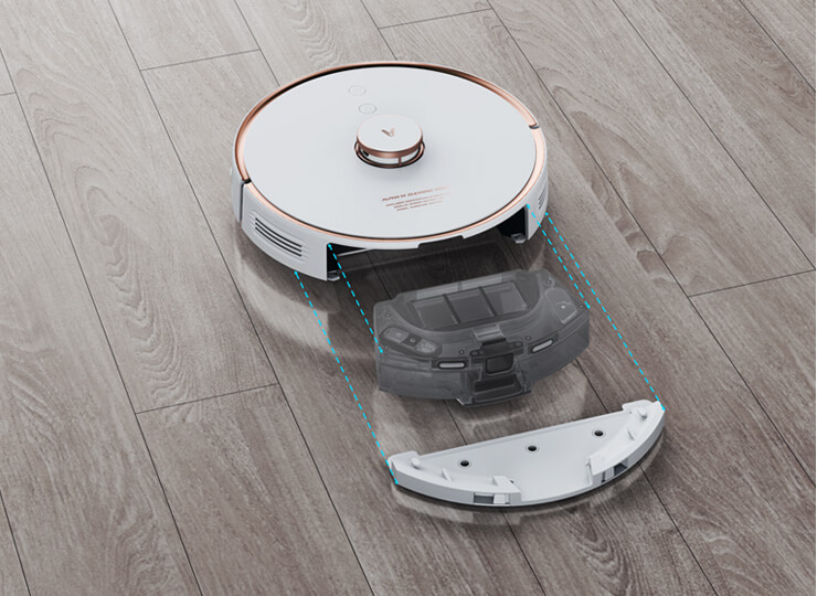 viomi alpha s9 robot vacuum and mop