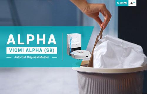 Viomi Alpha (S9) Introduction - A Robot Vacuum to Empty Itself