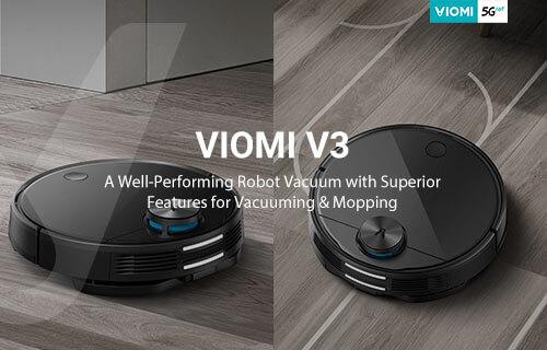 Viomi V3 Robot Vacuum- Let me handle the crumbs!