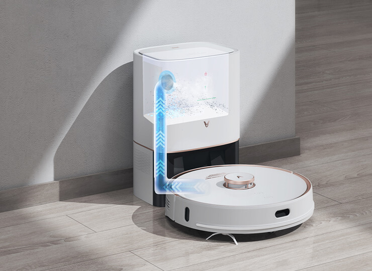 viomi alpha s9 best self emptying robotic vacuum