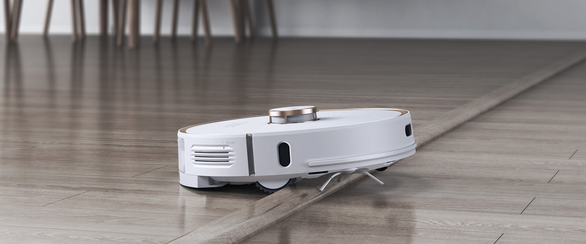 viomi alpha s9 automatic vacuum with Obstacle Climbing
