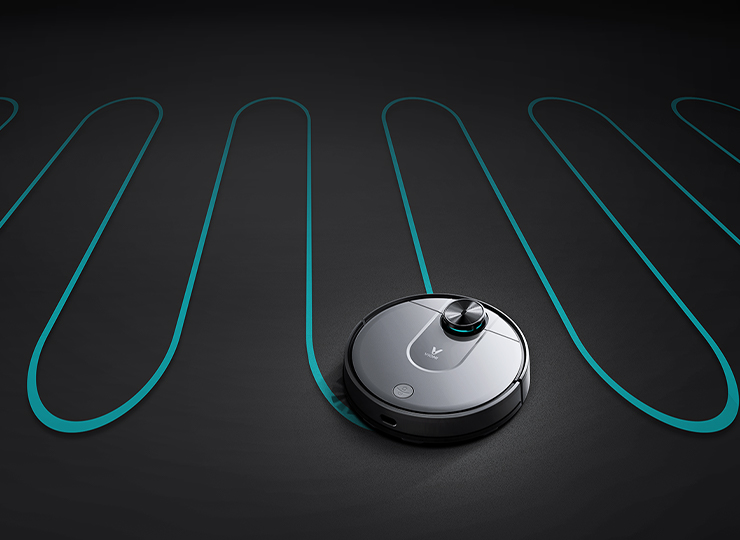Viomi V2 Pro best robot vacuum with Smart Planning of Cleaning Routes