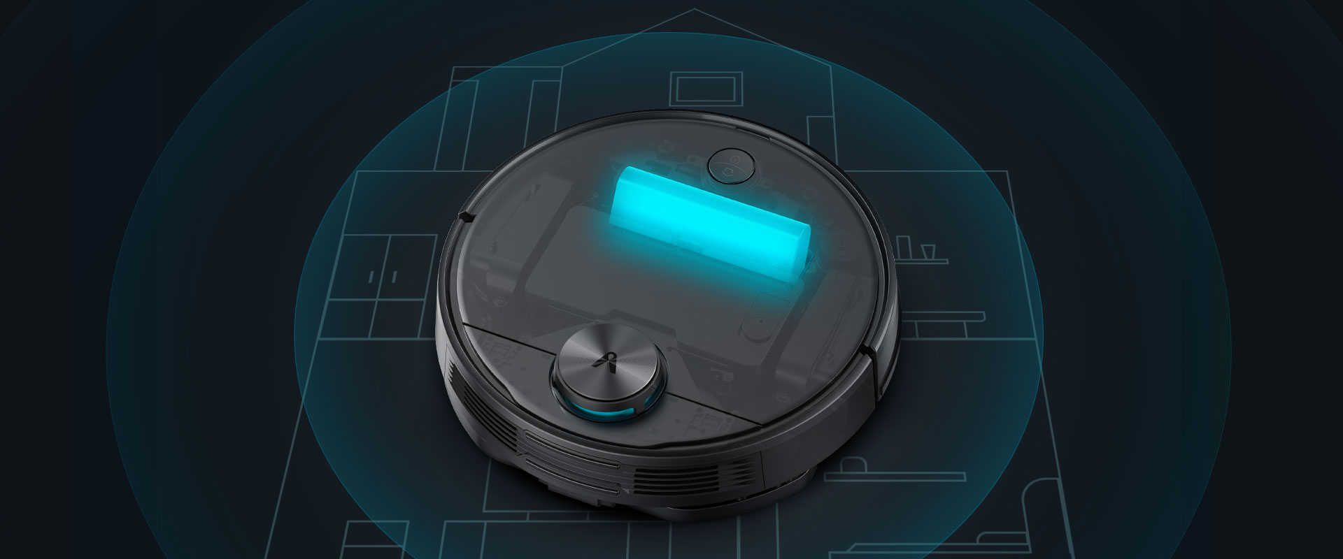 Viomi V3 smart vacuum with 3.2 Hours Long Battery