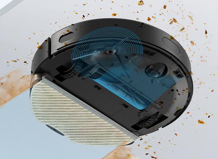 V3 Max Robot vacuum Remove Stubborn Stains