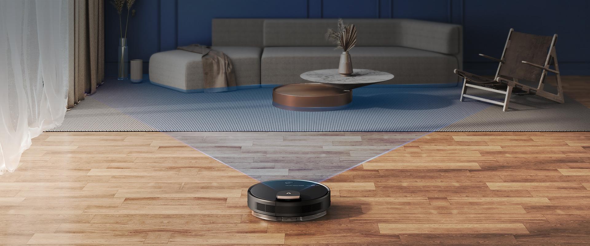 360° LDS Laser robot vacuum and mop