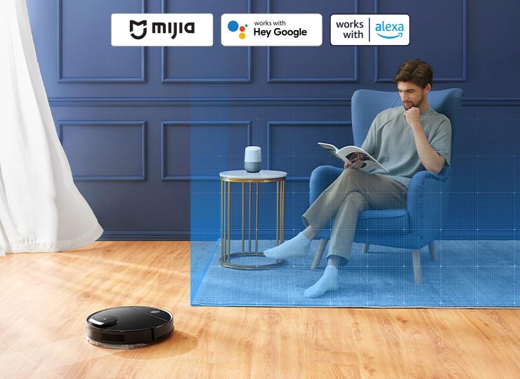 Viomi V3 Max Robot vacuum-mop with Mijia App