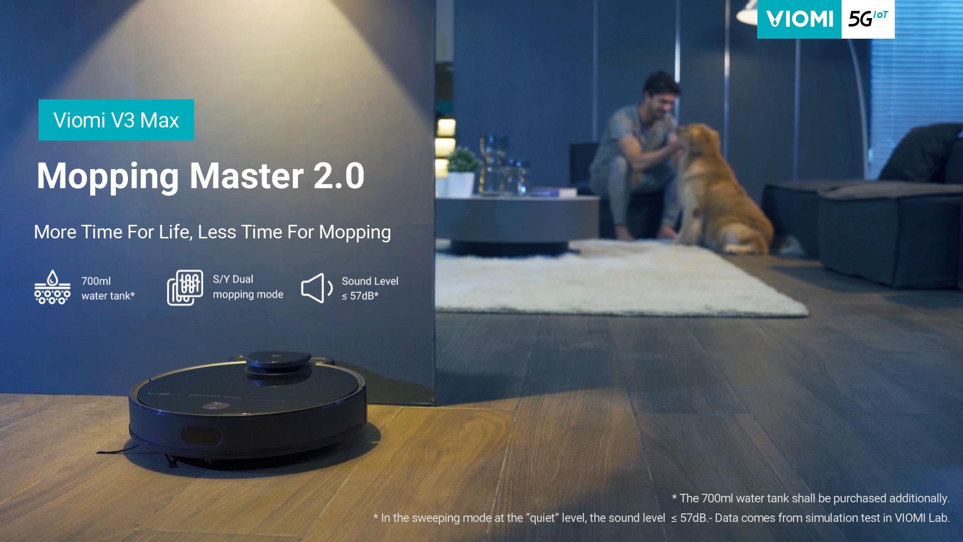 Introducing Viomi Robot Vacuum V3 MAX - Mopping Master 2.0