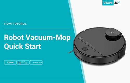 Viomi Robot Vacuum-mop Quick Start - How to Install the Sweeper